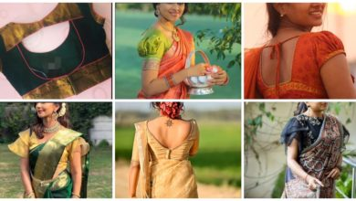 Photo of Latest saree blouse designs front and back: Top Trendy designs