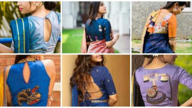 Photo of Bring Sexy 'Back' With Fun And Extraordinary Saree Blouse Back Designs!