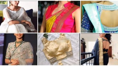 Photo of Different Types Of Saree Blouses Back-Neck Designs